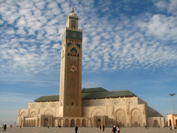 Hassan II Mosque in Casablanca - Morocco
