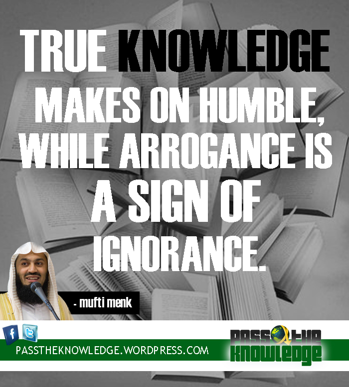 signs of arrogance in a man