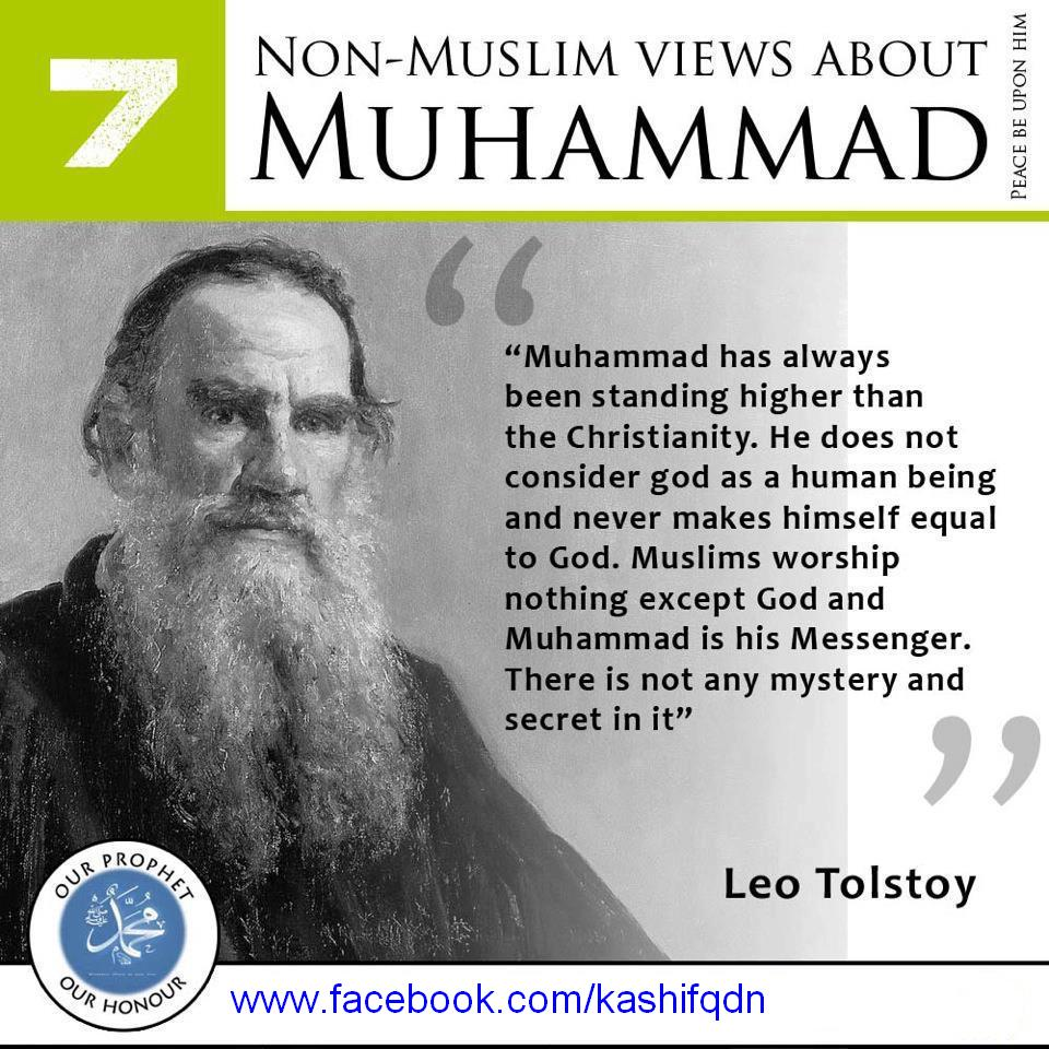 Non-Muslim views about Prophet Muhammad (peace be upon him