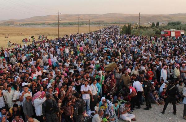Syrians-Flee