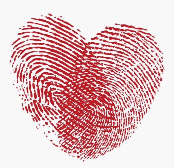 Fingerprint-Heart-Vector-Graphic