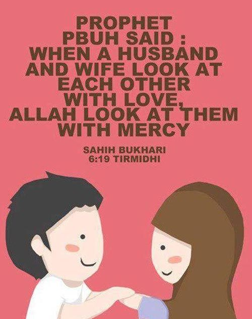 husband and wife relationship in islam quotes science