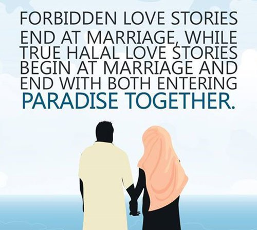 Love, Relationship: 70 Islamic Marriage Quotes | PASS THE KNOWLEDGE ...