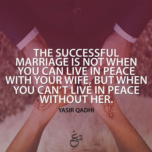 Merveilleux ... Islamic Marriage Quotes 65 ...