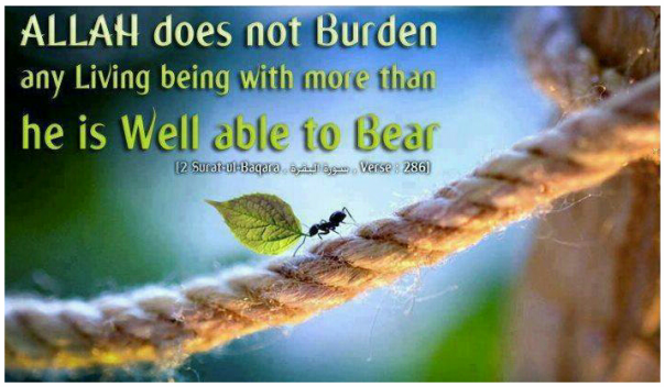 Trials and tribulations in islam