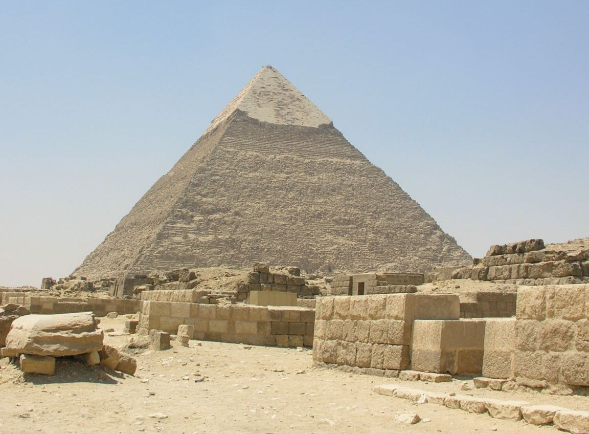a history of the construction of the great pyramid of giza It's the oldest and the only surviving of the seven wonders of the world it is the great pyramid of giza it doesn't need any speculations in reference to.