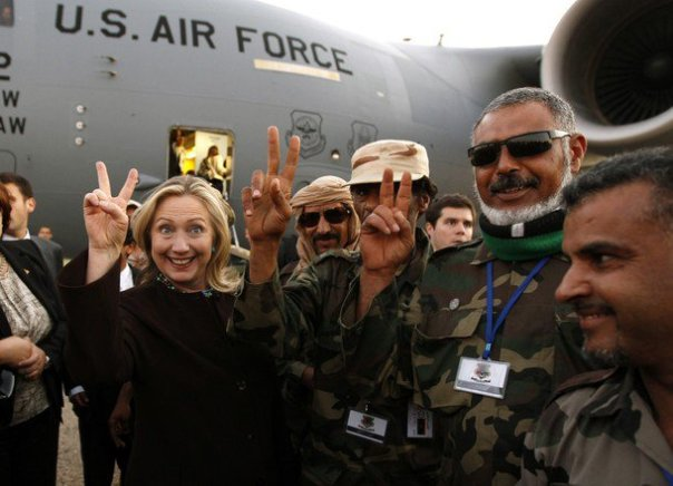 Hillary-Clinton-Libyan-rebels